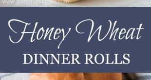 Whole Wheat Honey Dinner Rolls