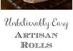 Unbelievably Easy Artisan Rolls