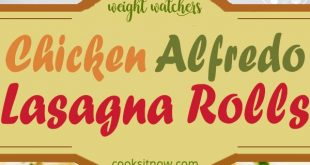 Chicken Alfredo Lasagna Rolls. this quick recipe are perfect for when you need d...