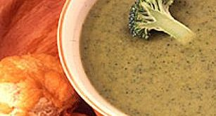 Cream-less Cream of Broccoli Soup. A friend makes this all the time. She say's...