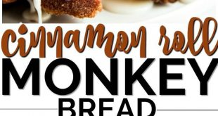 Two of my all time favorite easy breakfast recipes to be cinnamon rolls and monk...